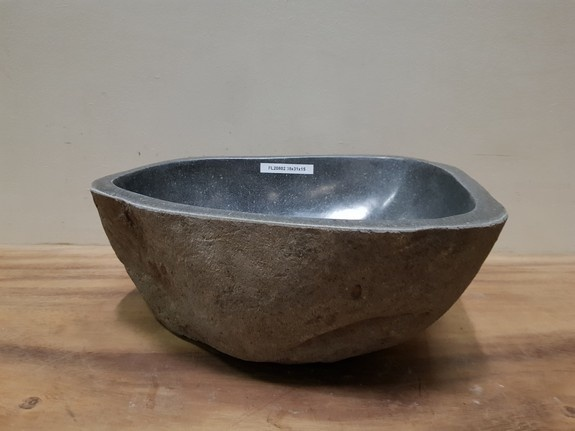 Waskom natuursteen FL20802 - 38x31x15cm