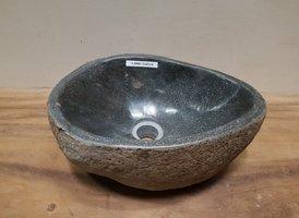 Waskom natuursteen FL20803 - 37x27x15cm