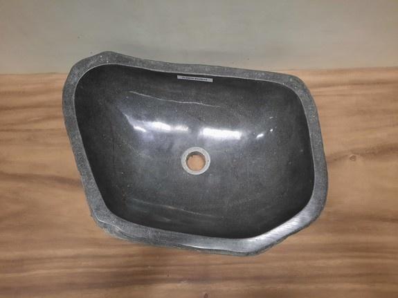 Waskom natuursteen FL20819 - 49x35x15cm
