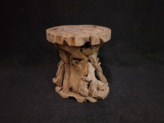 Wortelhouden tafel Ø80x80cm - RI2112-01