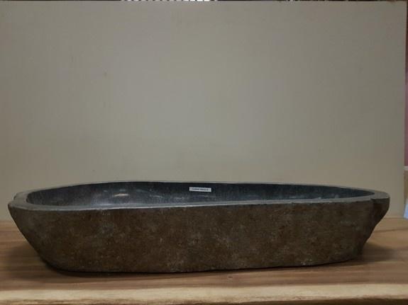 Wasbak natuursteen FL20940 - 100x43x15cm