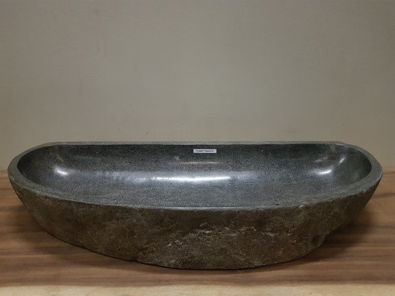 Wasbak natuursteen FL20941 - 102x41x15cm