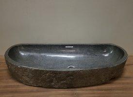 Wasbak natuursteen FL20942 - 102x42x15cm