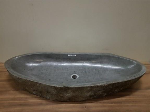 Wasbak natuursteen FL20943 - 108x43x15cm