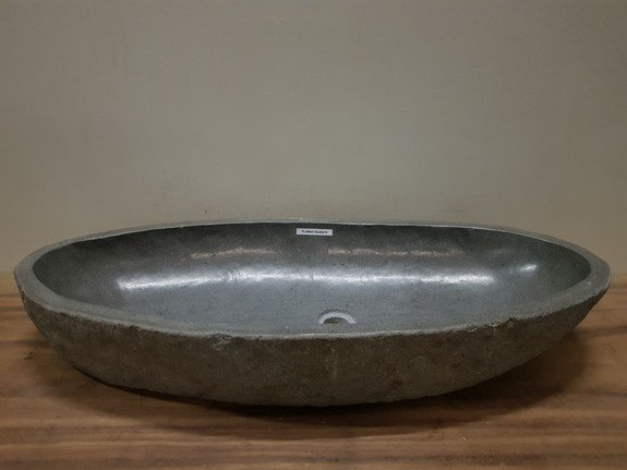 Wasbak natuursteen FL20944 - 93x42x15cm