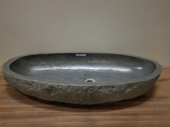 Wasbak natuursteen FL20945 - 95x44x15cm