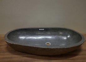Wasbak natuursteen FL20947 - 91x42x15cm