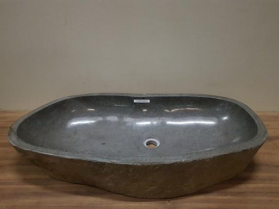 Wasbak natuursteen FL20948 - 89x44x15cm