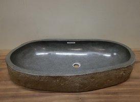 Wasbak natuursteen FL20949 - 91x43x15cm