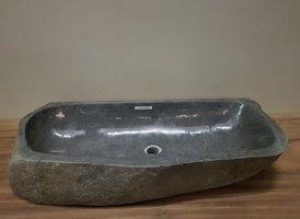 Wasbak natuursteen FL20950 - 92x39x15cm