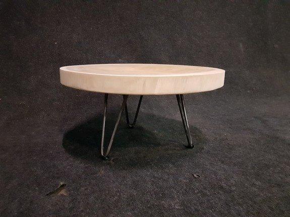 Salontafel op pinpoot 60x31cm - IJ602-2121