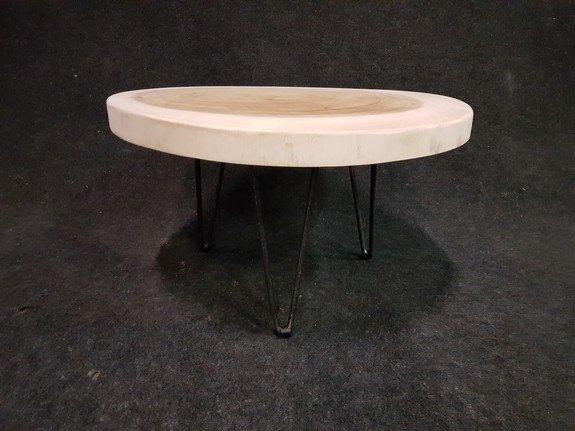 Salontafel op pinpoot 70x41cm - IJ701-2121