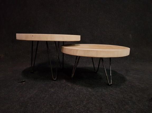 Salontafel op pinpoot 70x31cm - IJ702-2121