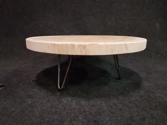 Salontafel op pinpoot 80x41cm - IJ801-2121