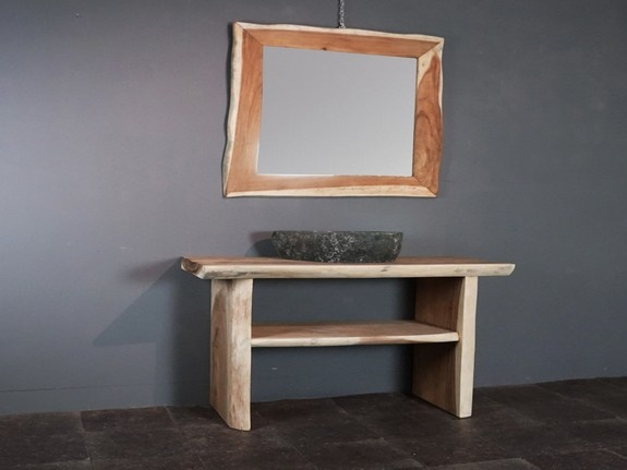 Suar badmeubelset 150cm incl  spiegel & waskom