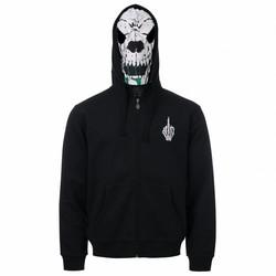 Uptempo Mask Hooded Zipper Damnation