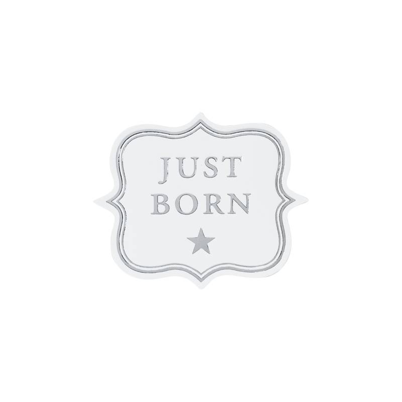 Buromac Pirouette Sluitzegels Just Born per vel van 10 stuks