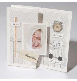 Familycards Klein Wonder Geboortekaartje Mason