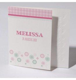 Familycards Klein Wonder Geboortekaartje Melissa