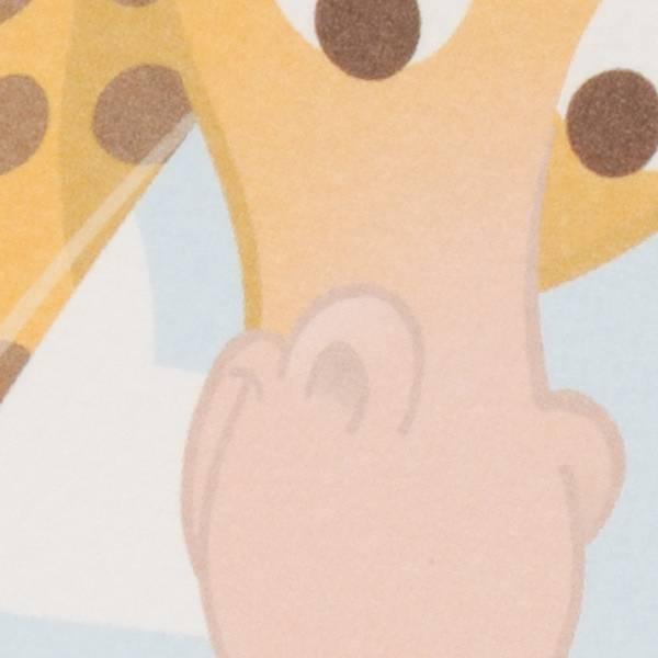 Familycards Klein Wonder Geboortekaartje Baby & Giraf (63710)