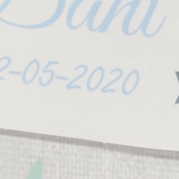 Familycards Klein Wonder Geboortekaartje 'Wolk' (63712)