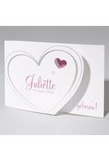 Familycards Klein Wonder Geboortekaartje Juliette (63738)
