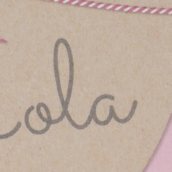 Familycards Klein Wonder Geboortekaartje Lola (63754)