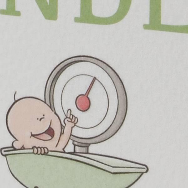 Familycards Klein Wonder Geboortekaartje Sander (63755)