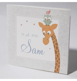 Familycards Klein Wonder Geboortekaartje Sam