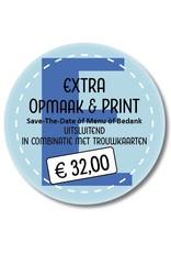 Mare Extra printen in combinatie met trouwkaarten (999013)