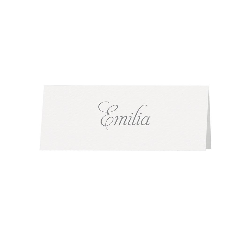Belarto Bohemian Wedding Tafelkaartje bij trouwkaart in zalmkleur met kant en satijnen lint (727721)