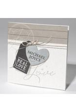 Familycards-Deel je Geluk Trouwkaart Real Love - foliebedrukking mogelijk (621689)