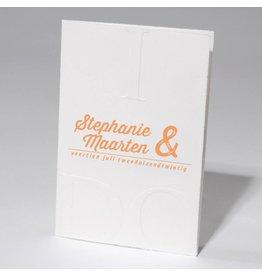 Familycards-Deel je Geluk Trouwkaart I DO met letterpress