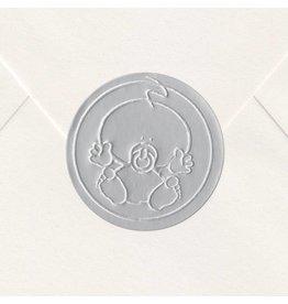 Sluitzegel Zilveren baby