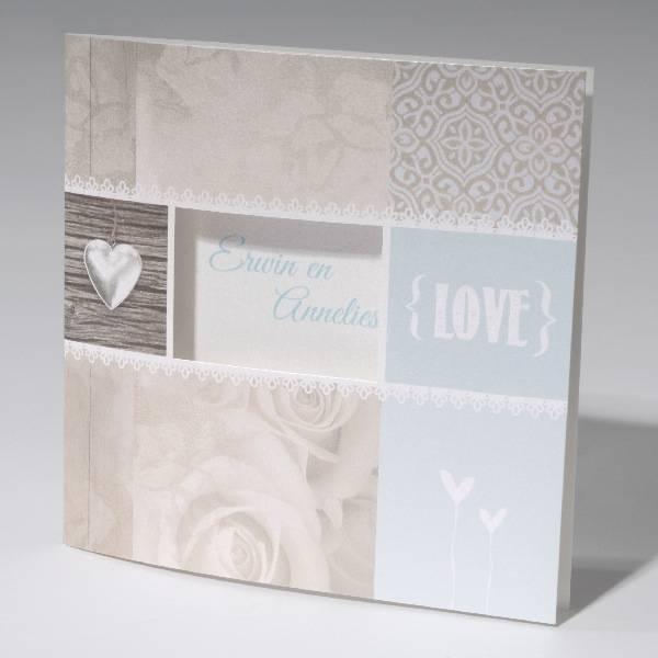 Familycards-Deel je Geluk Trouwkaart LOVE (621673)