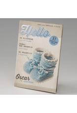 Belarto Little Love Geboortekaart magazine met blauwe sokjes(714011)