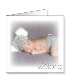 Mare Geboortekaartje met babyfoto