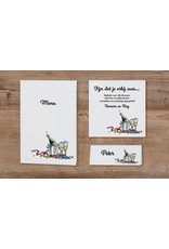 Belarto Jubileum Save The Date kaart of bedankkaart have fun met champagne illustratie (786515)