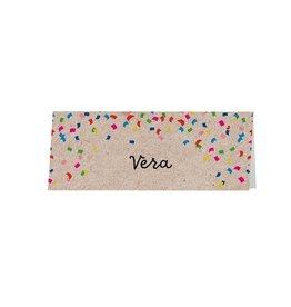 Belarto Jubileum Tafelkaart CELEBRATE confetti