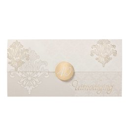Belarto Jubileum Uitnodiging elegant in envelopvorm met sluitzegel