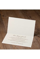 Belarto Jubileum Uitnodiging cheers met typografie champagneglazen (786091)