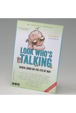 Belarto Little Love Geboortekaart Look who's talking (714008)