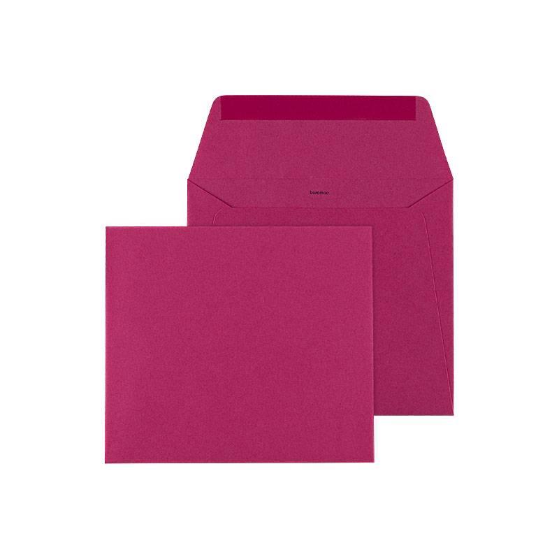 Buromac Baby Folly 2019 Geboortekaart met gouden confetti en roze (507141)