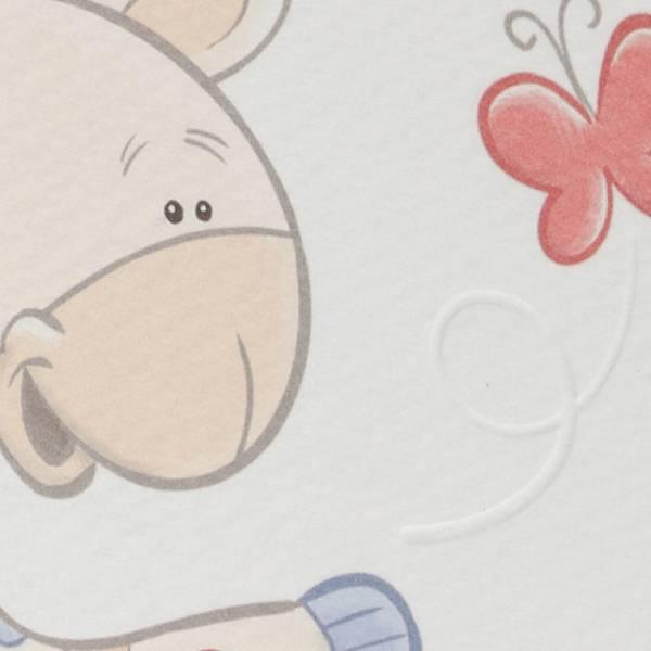 Geboortekaartje Baby & Giraf (61633)