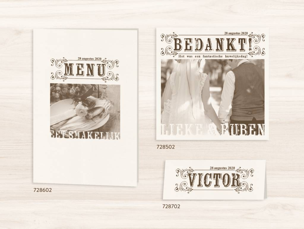 Belarto Yes We Do Trouwkaart - Het mag in de krant (728002)