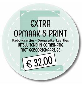 Extra printen - GEBOORTE