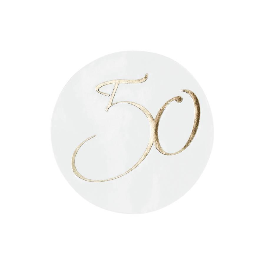 Buromac La Vie en Rose Sluitzegel 50 goudfolie (176108)