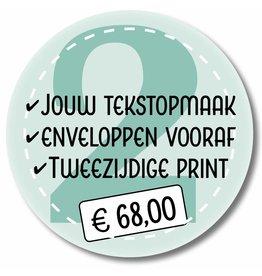 Tweezijdige printen -  eigen tekstopmaak