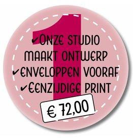 Eenzijdig printen - ontwerp Printtijgers