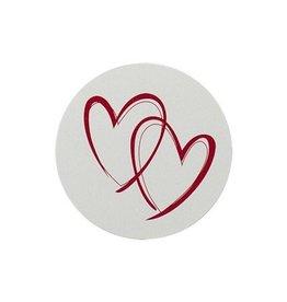 Buromac La Vie en Rose Sluitzegel met rode harten